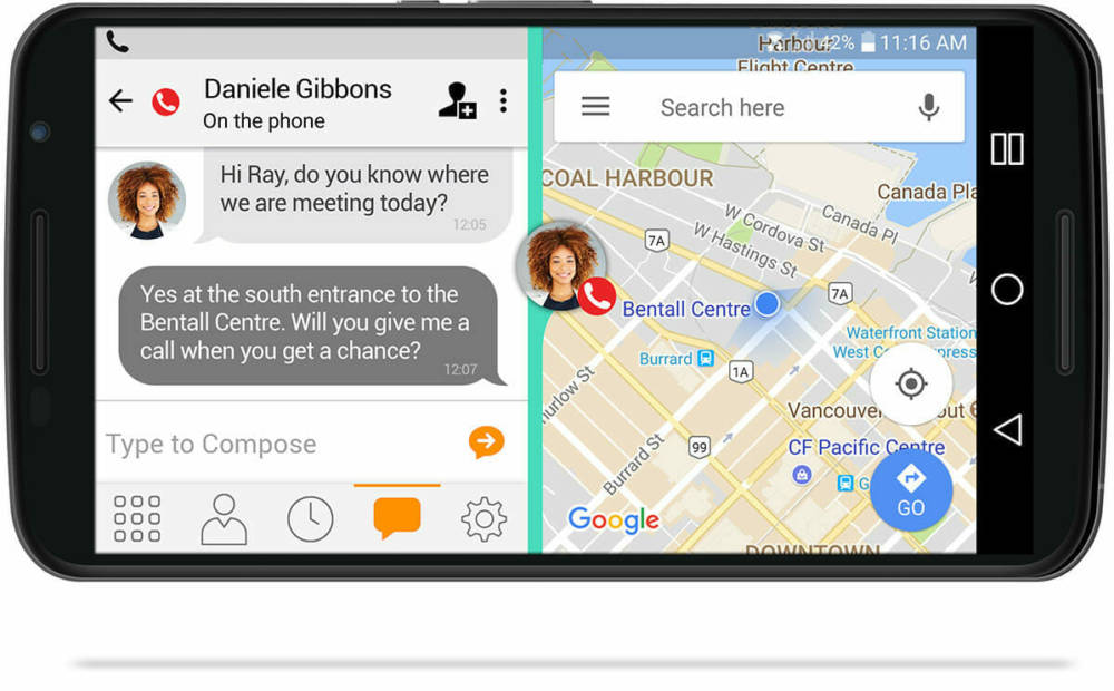 Bria Stretto (Android & IOS) : Voip App for Softphone